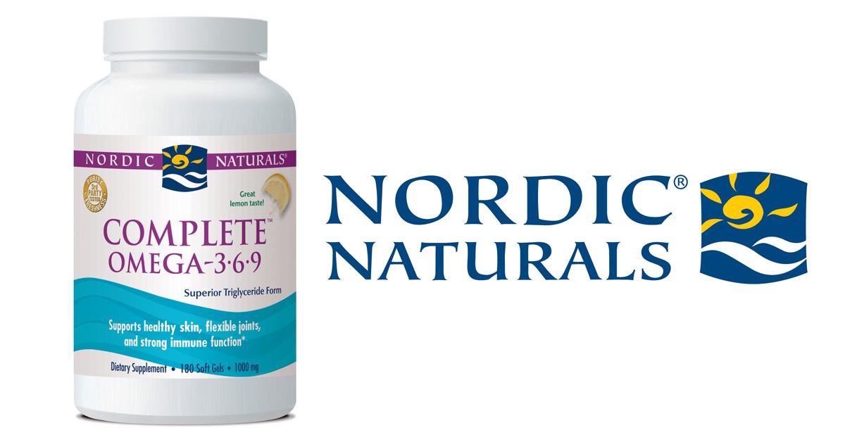Nordic Naturals Complete Omega 3 6 9 + vit D Review (60 Capsules)