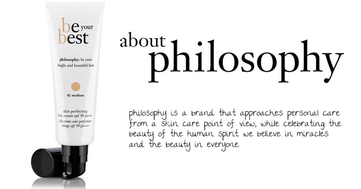 Philosophy Be your Best Review - Skin Perfecting B.B. Cream SPF 30 pa+++