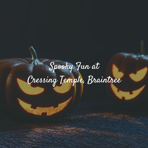 Spooky Fun at Cressing Temple Braintree